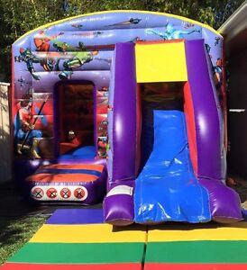 $180 SuperHero Jumping Castle Full Day Hire Brisbane Region Preview