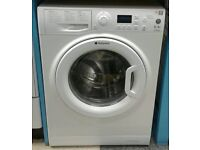 j126 white hotpoint 6kg 1300spin A+ washing machine come with warranty can be delivered or collected