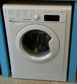790 white indesit 8kg washing machine comes with warranty can be delivered or collected