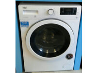 e328 white beko 7+5kg 1400 spin washer dryer comes with warranty can be delivered or collected