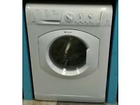 b069 white hotpoint 7kg 1600 spin washer dryer with warranty can be delivered or collected