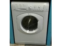 d069 white hotpoint 7kg 1600spin washer dryer comes with warranty can be delivered or collected