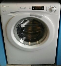 B289 white candy 8kg 1600 spinwashing machine comes with warranty can be delivered or collected