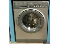 *G285 graphite hotpoint 6kg 1400 spin washing machine with warranty can be delivered or collected