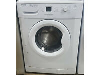 l264 white beko 6kg 1600spin washing machine comes with warranty can be delivered or collected