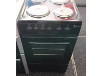 *53 black flavel 50cm solid ring electric cooker comes with warranty can be delivered or collected