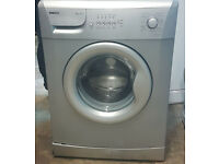 m469 silver beko 6kg 1000spin washing machine comes with warranty can be delivered or collected