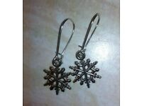 Snowflake Winter/Christmas Earrings
