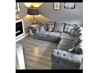 15% Off!!! Luxury Verona Corner Sofa & 3+2 Set - 12 Months Warranty