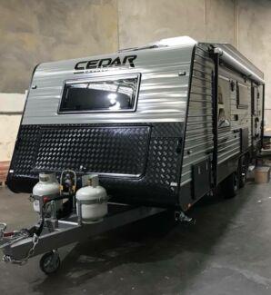 Brand New Cedar Evoke 2018 Model 22'6 Caravan