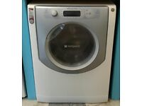 761 white hotpoint 9kg washing machine comes with warranty can be delivered or collected