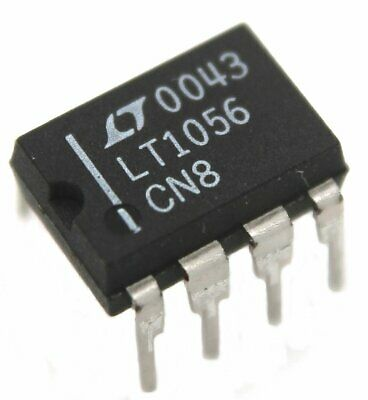 Lt1056cn8 Jfet Operational Amplifier - Lot Of 1 5 10 Or 25.