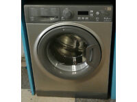 a748 graphite hotpoint 8kg 1400spin A+++ rated washing machine comes with warranty can be delivered