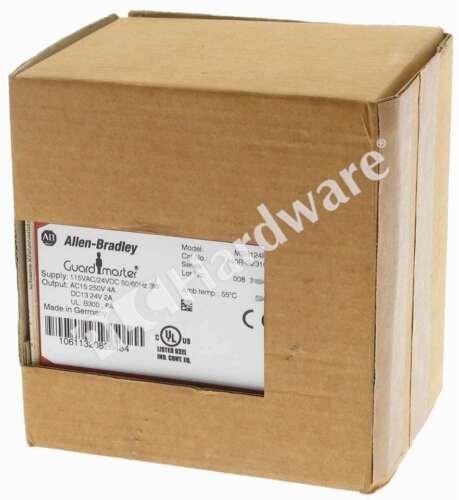 New Allen Bradley 440R-G23108 /A Safety Relay MSR124RT 115VAC/24VDC 5NO 1NC