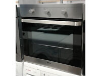 b671 stainless steel beko single electric oven comes with warranty can be delivered or collected