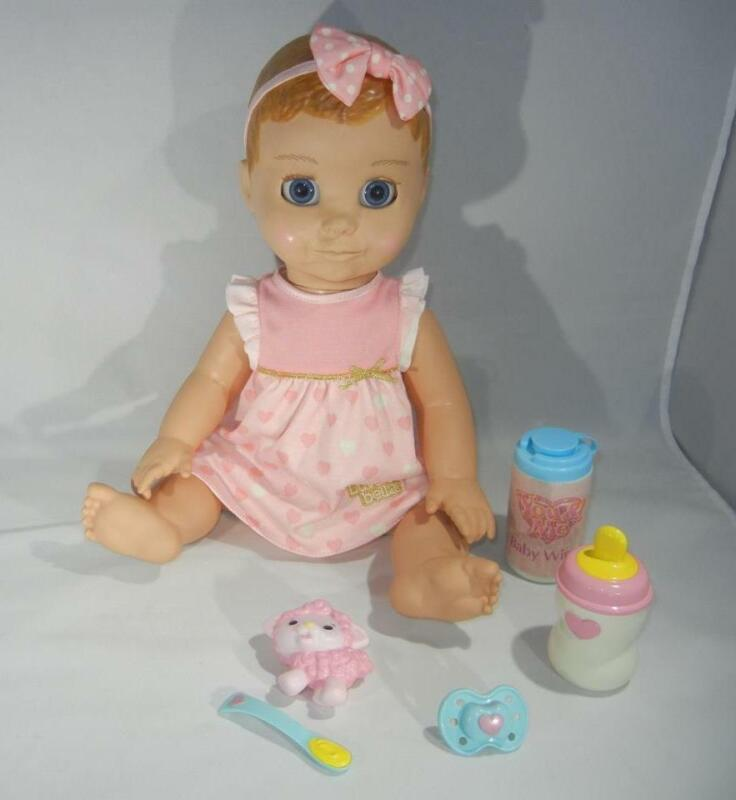 Spin Master LuvaBella Blonde Doll Interactive Talking Expressions Movement 4+
