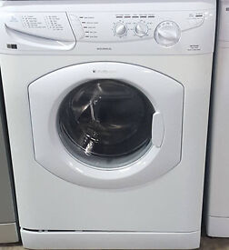 V143 white hotpoint 7kg 1400spin washing machine comes with warranty can be delivered or collected
