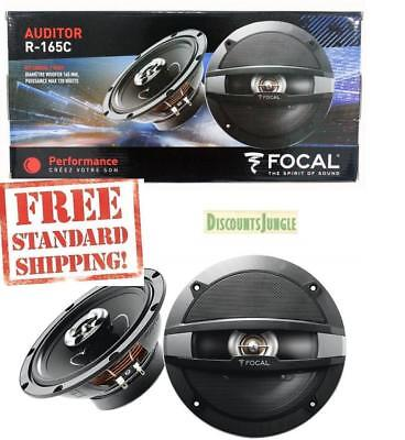 Brand New Focal Auditor R 165C 6 5  2 Way Coaxial Car Speakers 120W Rms R165c