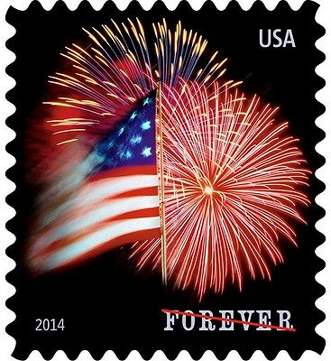 USPS Forever Stamps  Star Spangled Banner 5 Coils of 100 Stamps