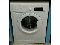 c204 white indesit 8kg washing machine with warranty can be delivered or collected