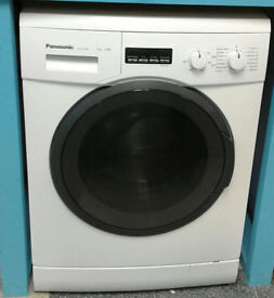 a543 white panasonic 7kg 1200spin washing machine comes with warranty can be delivered or collected