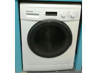 a543 white panasonic 7kg 1200spin washing machine comes with warranty can be delivered