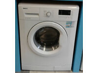 c613 white beko 6kg 1400spin A+ rated washing machine comes with warranty can be delivered