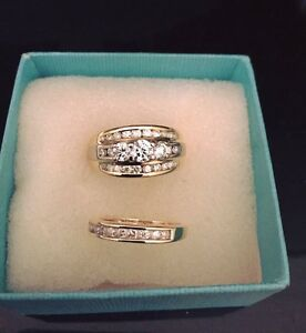 Engagement/wedding ring set Durack Palmerston Area Preview