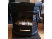 Brand New Black Freestanding FABER KOLDING B11 MODERN GAS FIRE STOVE