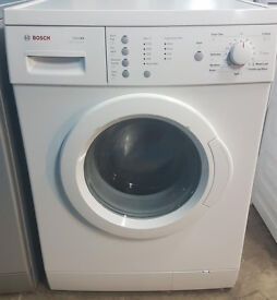 D471 white bosch 6kg 1200 spin washing machine comes with warranty can be delivered or collected
