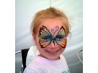 Face painting and body painting