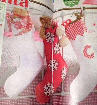 ockings, Set Of 3 Sewing Patterns (Classic Christmas Stockings)