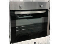 b673 black & stainless steel lamona single electric oven comes with warranty can be delivered