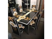🤩🤩ELEGANT DINING TABLE WITH CHAIRS IN BEAUTIFUL DESIGNS🤩🤩