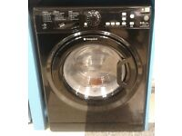 e293 NEW black hotpoint 9+6kg 1400 spin washing machine comes with warranty can be delivered