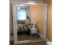 DISCOUNTED OFFER🎉 BUY BRAND NEW CHICAGO SLIDING MIRROR DOOR WARDROBE ON BEST PRICE🎊ORDER NOW📲