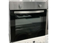 m673 black & stainless steel lamona single electric oven comes with warranty can be delivered