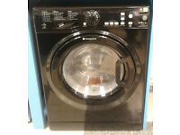 U293 black hotpoint 9kg&6kg 1400spin A rated washer dryer new graded with 12 month warranty