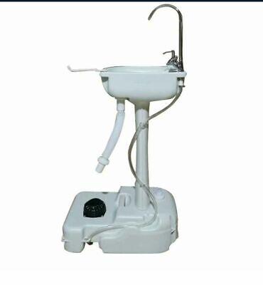 Portable Wash Sink Camping Hand Wash Station Basin Stand W 4.5 Gallon Tank