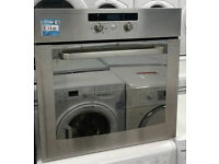 p289 stainless steel whirlpool single integrated electric oven comes with warranty can be delivered