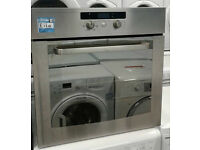 m289 stainless steel whirlpool single integrated electric oven comes with warranty can be delivered