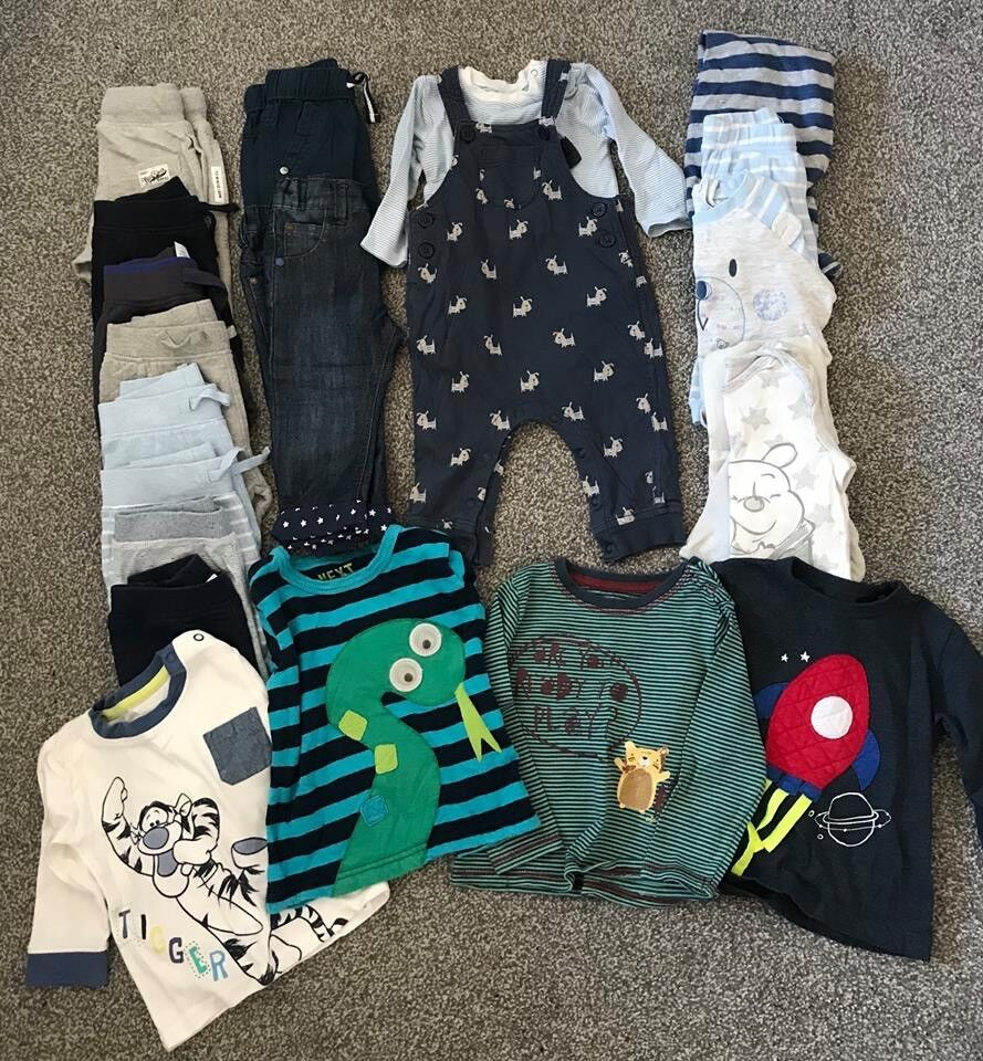 Baby boys 6-9 month bundle mostly Next, in great condition, £15 for all Barncoose