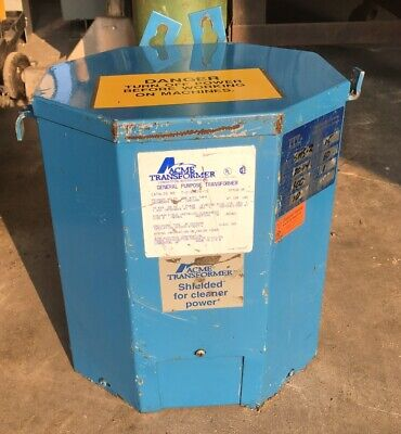 Acme Transformer 10 Kva 60 Hz 1 Phase Cat T-2-53616-1s Style Sr