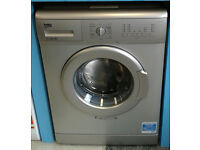 Y308 silver beko 5kg 1200spin A+ rated washing machine new with manufacturers warranty