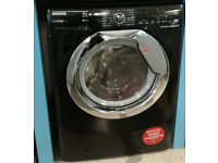 Y193 black hoover 9kg 1600spin A+++ rated washing machine new graded with manufacturers warranty