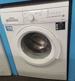 V155 white siemens 8kg 1200spin washing machine comes with warranty can be delivered or collected