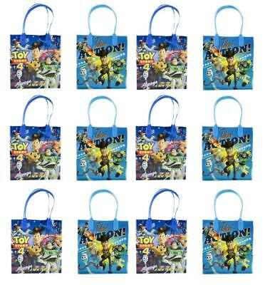 New Toy Story 4 Goody Bags Birthday Party Favors Gift Loot Bags (12pc) - Birthday Goody Bags
