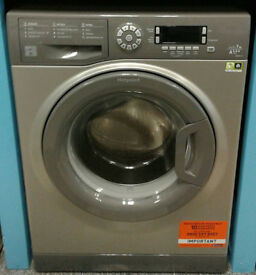 x514 graphite hotpoint 7kg 1400spin A+++ rated washing machine new graded with warranty