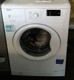 j145 white beko 7kg 1500spin A++ rated washing machine comes with warranty can be delivered