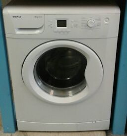 E350 white beko 8kg 1200 spin washing machine with warranty can be delivered or collected